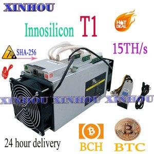 Используется BTC BCH miner INNOSILICON Dragonmint T1 15TH/s SHA256 Asic с PSU лучше, чем Whatsminer M3 M10 antminer S9 S11 S15 T15