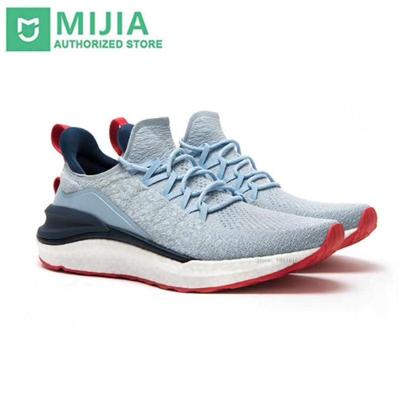 2020 New Xiaomi Mi Mijia Sports Shoe Sneaker 4 Outdoor Men Running Walking Lightweight Comfortable Breathable 4D Fly Woven Upper
