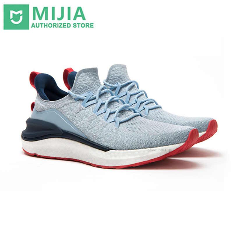 2020新xiaomi mi mijiaスポーツ靴スニーカー4屋外男性ランニングウォーキング軽量快適な通気性4Dフライ織アッパー