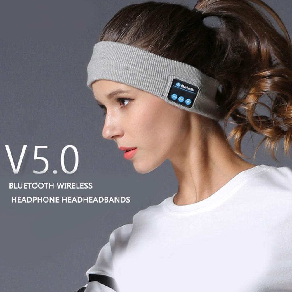 2020 New Wireless Bluetooth 5.0 Headphones headset Sleep Mask Earphone Headband Wearable auriculares bluetooth Headband