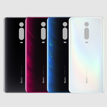 100% Glass For Xiaomi Redmi K20 / K20 Pro / mi 9t Back Battery Cover Rear Door Housing Case Panel Replacement Battery Cover
