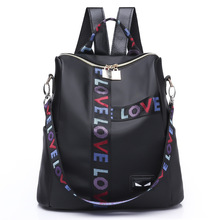 women backpack Oxford cloth school bags for teenage girls