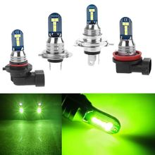 Car-Led-Light Lemon Canbus Green H7 1000LM Fog-Lamp Mini Super-Bright H11 9006/HB4 60V