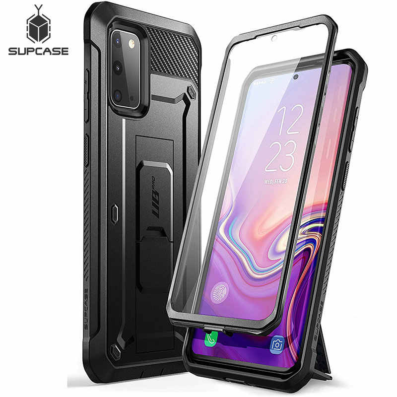 SUPCASE For Samsung Galaxy S20 5G Case (2020 Release) UB Pro Full-Body Holster Cover WITH Built-in Screen Protector & Kickstand
