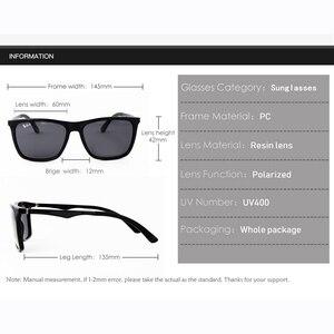 Image 4 - מקוטב נהיגה משקפי שמש מראות נקודת Eyewear מותג זכר נקבה GlassesUV400 שמש משקפיים גברים משקפי שמש נשים