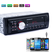 Bluetooth Autoradio coche estéreo Radio FM entrada Aux receptor USB SD 12V en el tablero de 1 din coche MP3 reproductor Multimedia dropshipping. Exclusivo.(China)