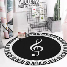 Модное современное минималистское черно белое фортепиано клавиатуры