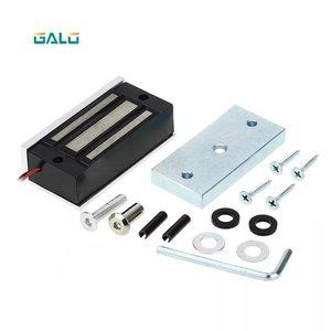 Бесплатная доставка, однодверный Электрический электромагнитный замок, магнитный замок 60 кг/100 фунтов, удерживающая сила для витрины, двери...