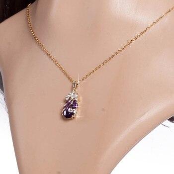 2019 moda hermosa Mujer colgante collar Cadena de joyas alta calidad Naszyjnik...
