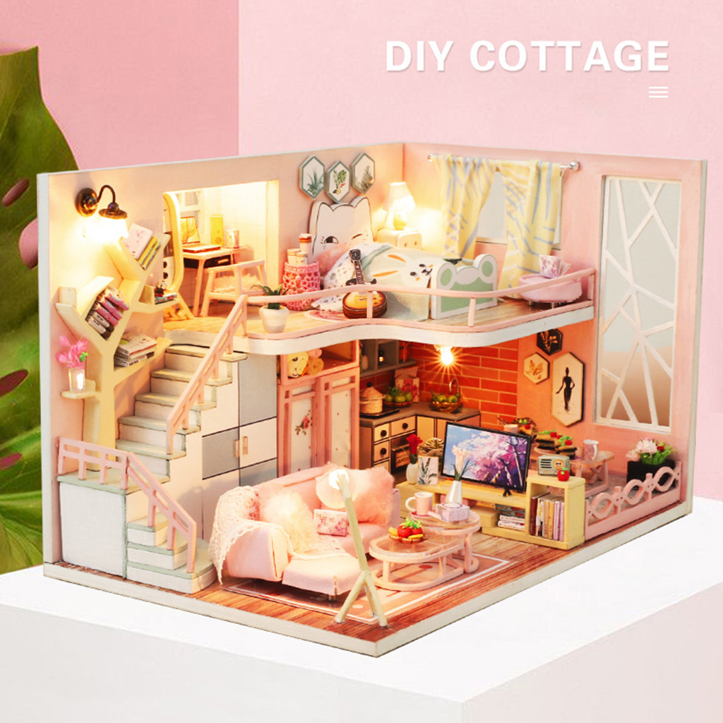 H4da6cdff346649858c3829cf96636fb5R - Robotime - DIY Models, DIY Miniature Houses, 3d Wooden Puzzle