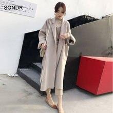 Женское зимнее шерстяное пальто размера плюс 2020 Женская Повседневная