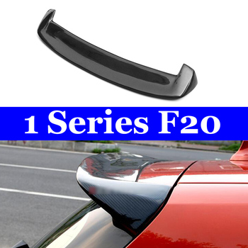 Carbon Fiber 3D Design Spoiler for BMW F20 Hatchback F21 116i 118i 120i 125i 135i Gloss Black Car Styling Spoilers 2012-IN carbon fiber rear trunk wings m4 spoiler for bmw 4 series f36 420i 428i 435i gran coupe 4 door 2013 gloss black spoiler wing