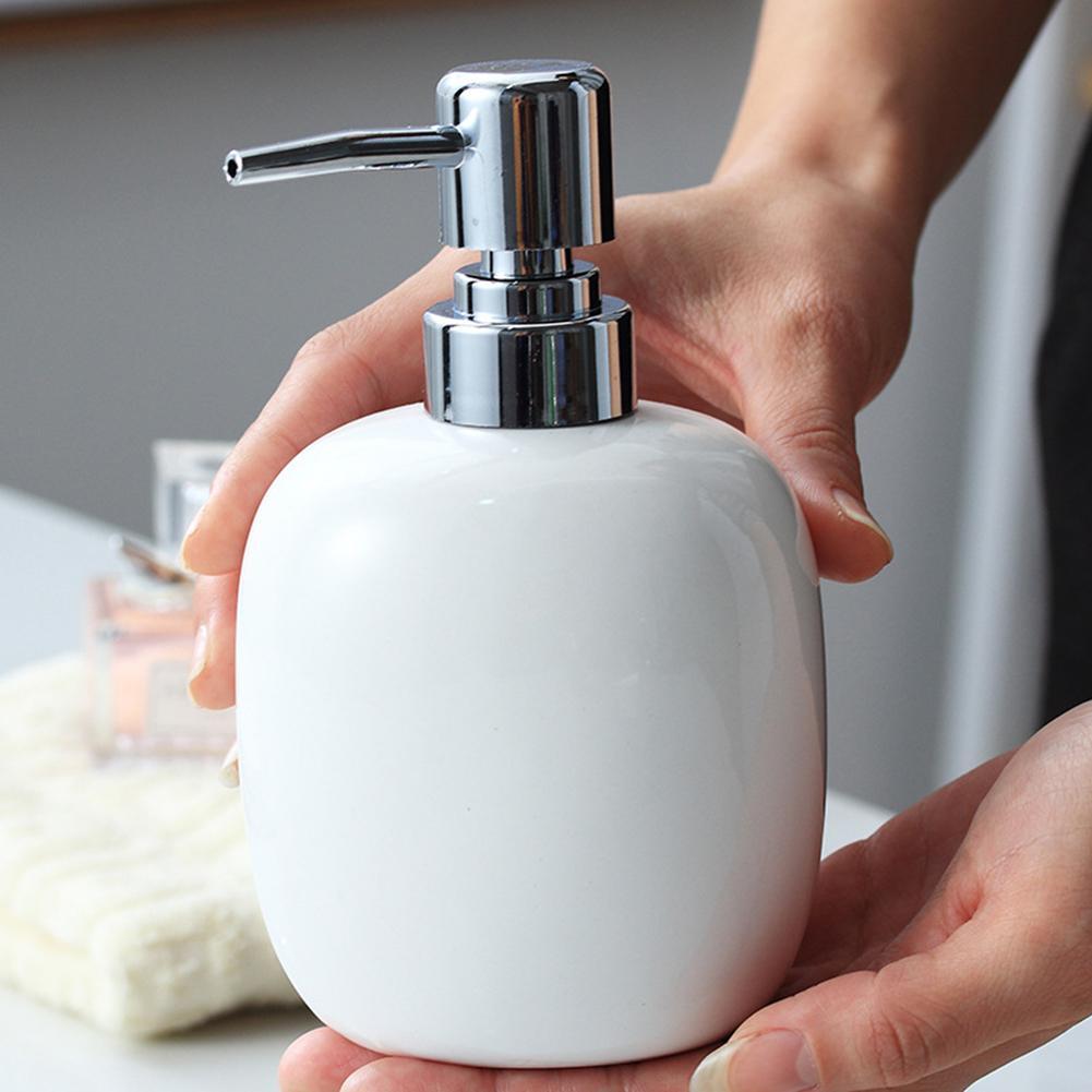 Keramik Lotion Seife Dispenser Flasche Flüssigkeit Dispenser mit Pumpe Dispenser Container für Bad Küche Bad Zubehör
