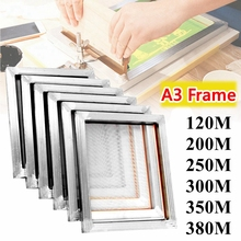 40*30cm Silk Screen Printing Aluminum Frame A3 Screen Frame Stretched With 120T/300T/350T/380T Mesh for Printed Circuit Board