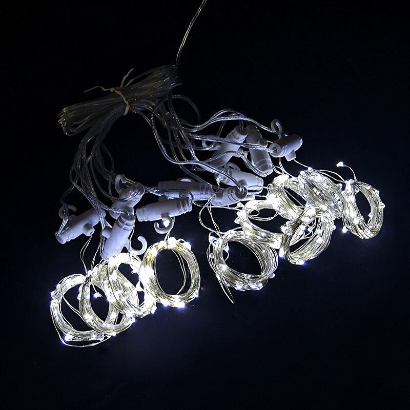 corda luzes de fadas natal quarto decoracao 05