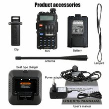 Baofeng 7W BF-F8HP Walkie Talkie VHF/UHF Dual Band Dual Disp