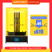 ANYCUBIC Photon Mono X 3D Printer 8.9 inch 4K Monochrome LCD UV Resin Printers 3D Printing High Speed APP Control SLA 3D Printer