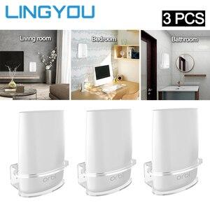 Image 1 - Soporte de pared acrílico transparente para enrutador, Netgear Orbi soporte resistente para, WiFi, para Orbi RBS40, RBK40, RBS50, RBK50, AC2200, AC3000, 3 uds.