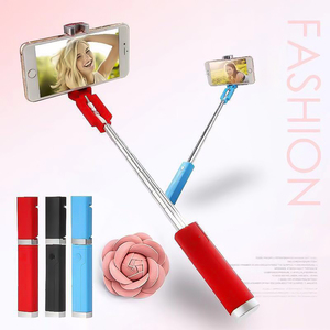 Image 2 - Kebidu Universal Mini Selfie Stick With Button 3.5MM Wired Silicone Handle Monopod For iPhone Android Samsung Huawei Xiaomi