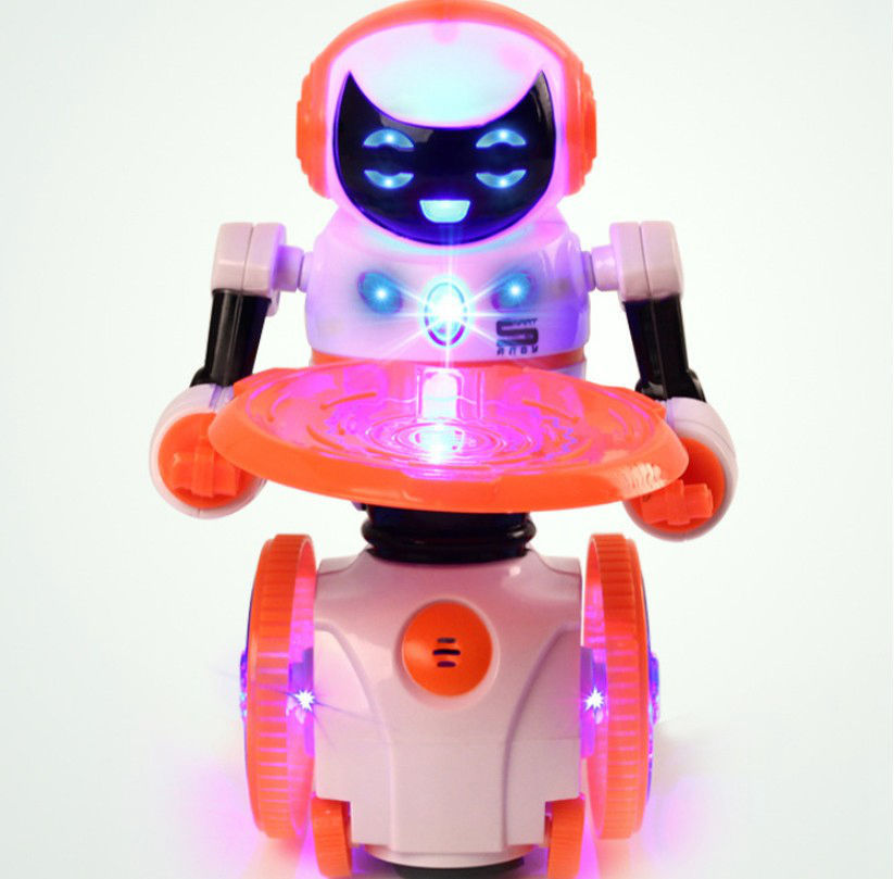 Children Remote Control Robot Intelligent Early Childhood Walking Story Music Robot Models Toy Wholesale