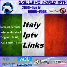 GXBLUE Stable IPTV Italia Smart TV Enigma2 M3U MAG Android TV