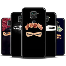 Arab Woman With Niqab Face eye Case For Xiaomi Redmi Note 9 Pro 8T 9S 7 8 Pro Coque For Redmi K30 Ultra 9C 9A 9 8 10X(China)