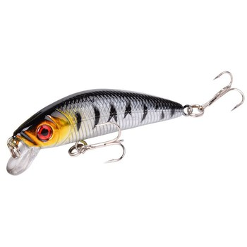 1PCS Minnow Fishing Lure 72mm Topwater Hard Bait Wobbler SwimBait Carp Striped bass Pesca Crankbait Jig Bait Fishing tackle Lure 1pcs wobbler fishing lures15 5cm 16g artificial hard bait minnow crankbait swim bass trolling pike carp fishing tackle fish bait