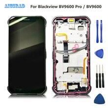 AICSRAD Original getestet Für Blackview BV9600 pro LCD Display + Touch Screen mit rahmen 6.21