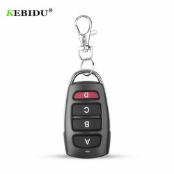 KEBIDU Controller Wireless Clone Switch Cloning Copy 433 MHZ Gate Garage Door Control Duplicator Portal Remote Control