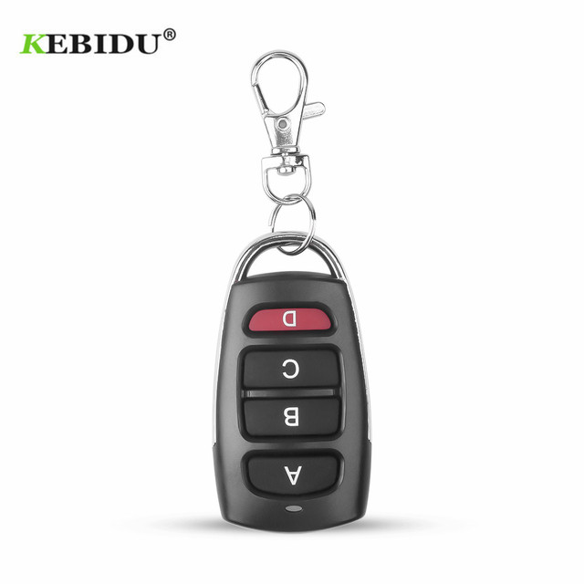 KEBIDU Controller Wireless Clone Switch Cloning Copy 433 MHZ Gate Garage Door Control Duplicator Portal Remote Control