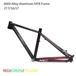 Alta calidad 6069 aleación de aluminio 27,5 er marco MTB 17