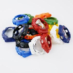Image 2 - 時計アクセサリーカシオ樹脂ストラップG SHOCK ga gls gd 110 100 120ピンバックル16ミリメートル男性のと女性のゴムスポーツ腕時計ケース