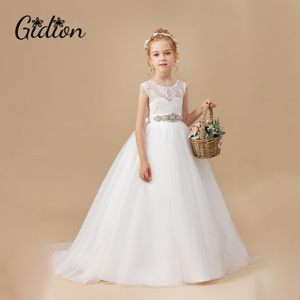 Meninas vestido de ano novo elegante princesa crianças vestido de festa de casamento vestidos de crianças para meninas vestido de festa de aniversário 2-14t