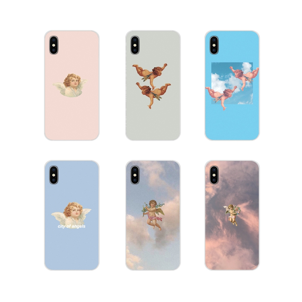 Accessories Phone Cases Covers Angels Aesthetics For Samsung A10 A30 A40 A50 A60 A70 M30 Galaxy Note 2 3 4 5 8 9 10 PLUS
