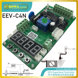 EEV superheat controller is designed for refrigerated trucks & bus air conditioners, also for new energy car or vehicle climates