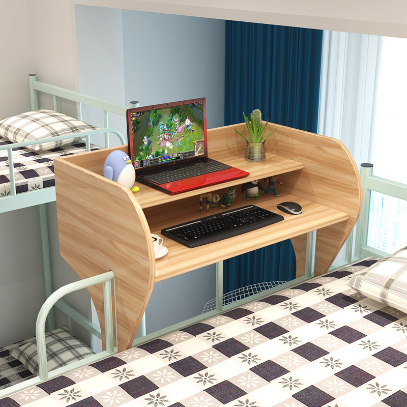 Laptop Tables On Artifacts In College Dormitories Bed Desk Study Table Desk Organizer Laptop Holder Stand Up Bed Desk