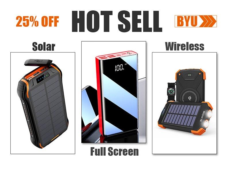 Внешний аккумулятор 30000 мАч, портативное зарядное устройство, водонепроницаемый аккумулятор, портативный внешний аккумулятор для xiaomi, huawei, Iphone, внешний аккумулятор, двойной USB