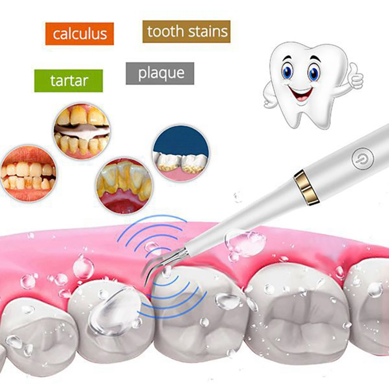 Ultrasonic Scaler Tips Handpiece Fit for Xiaomi Soocas Electric Toothbrush Remove Calculus Plaque Tooth Stain