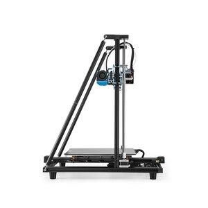 Image 3 - CREALITY CR 10 de actualización 3D para impresora V2, tamaño de impresora 300x300x400mm, placa base silenciosa, hoja de impresión con fuente de alimentación Mean well