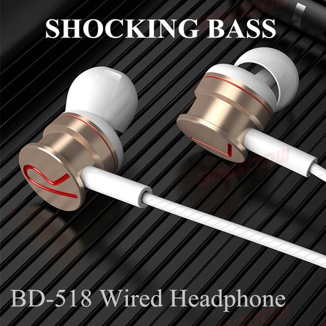 Hifi Stereo In-ear Earphone Magnetic Anti-Lost Wired