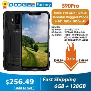 Image 1 - Doogee S90 Pro Modulare Mobile Del Telefono Helio P70 Octa Core 6GB 128GB NFC 6.18 FHD + Display IP68/IP69K 4G LTE smartphone