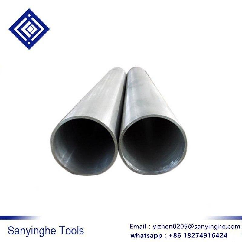 6063 Aluminum Round Tube 300mm Length 20mm OD 14mm Inner Dia Seamless Tubing