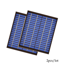 2 шт. ПЭТ Поликристаллический PV модуль Солнечная панель 18 в 20 Вт 20 Вт 1.1A мини Зарядка для 12 В зарядное устройство 20 Вт