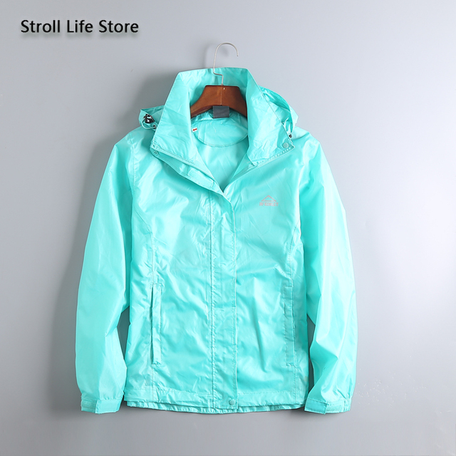 Waterproof Jacket Rain Coat Women Lightweight Breathable Hiking Travel Yellow Raincoat Rain Cover Partner Capa De Chuva Gift 2