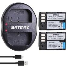 2 uds 2600mAh D-LI90 DLi90 D Li90 batería akku + Dual USB cargador para PENTAX 645 645D 645Z K-1 K-01 K-3 K-5 K-5D K-5IIs K-7 K-7D
