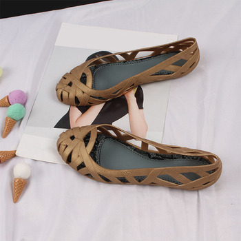 Fashionable Jelly Shoes/ Flat Summer Shoes 9