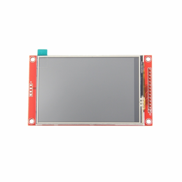Schermo LCD TFT seriale SPI da 3c 3,5 pollici 480x320 a caldo con Driver pannello pressa IC ILI9488 per MCU