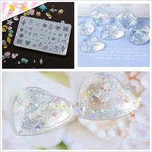 Ювелирные изделия «сделай сам» Прозрачная силиконовая форма