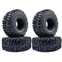 4PCS 120MM 1,9 Zoll Weichen Reifen Für SCX10 90046 D90 TRX4 RC Lkw Crawler 1.9/2,2 Felge