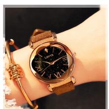 Reloj Casual de lujo para mujer, relojes de diamantes para mujer, reloj de pulsera de cuarzo de cielo estrellado para mujer, reloj femenino, montre 2019